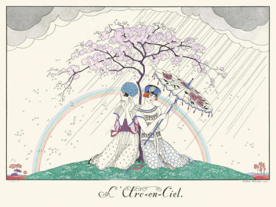 George Barbier - L'Arc-en-Ciel