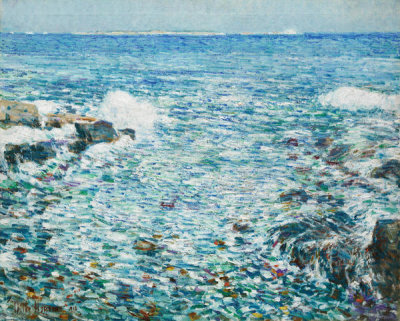 Childe Hassam - Surf, Isles of Shoals