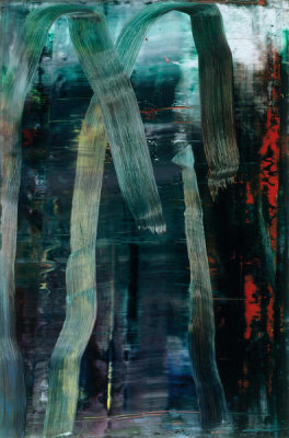 Gerhard Richter - Forest (7), 2005