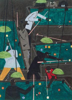 Jacob Lawrence - Pool Parlor
