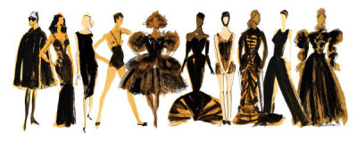 Donald Robertson - Illustrated Costume Institute (Robertson)