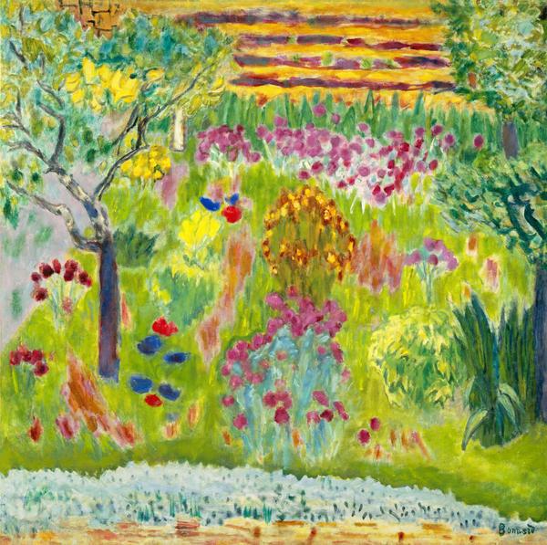 The Landscape Gardener: Garden By Pierre Bonnard