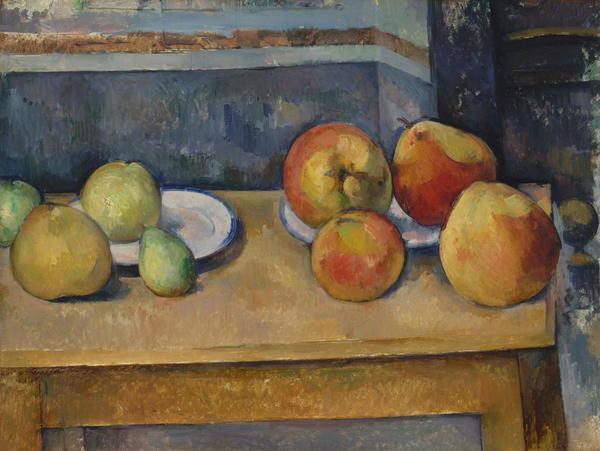 Still Life with Apples and Pears by Paul Cézanne - Paper Print - Met Custom Prints - Custom Prints and Framing From The Metropolitan Museum of Art